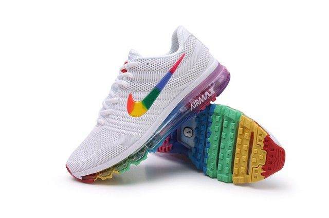 nike air max 2017 multicolor running shoes