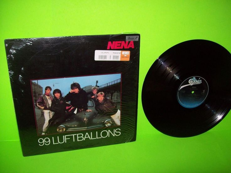 Nena ‎– 99 Luftballons 1984 Vinyl LP Record Album Synth-Pop New Wave EuroPop NM #NewWaveSynthPop1980sPopRock
