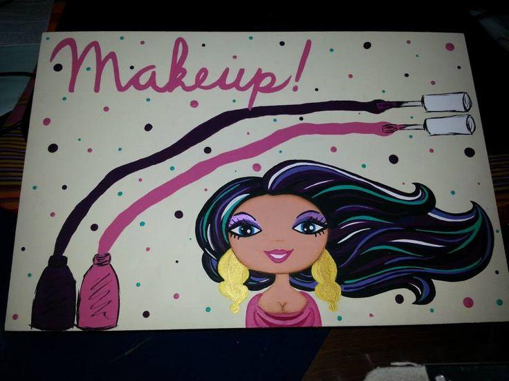 Tapa de caja para maquillajes
