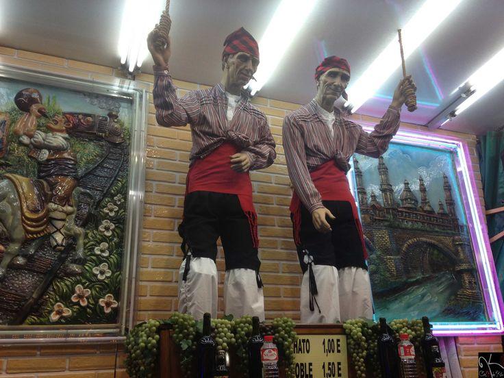 Los Maños de el Real de la Feria. Valladolid.