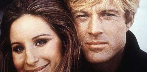 Dos superestrellas de Hollywood, en Tal  como eramos, Barbra Streisand y Robert Redford.