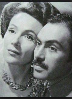 La hermosa Dolores del Río con el  extraordinario actor Pedro Armendariz ¡QUE PAREJA!