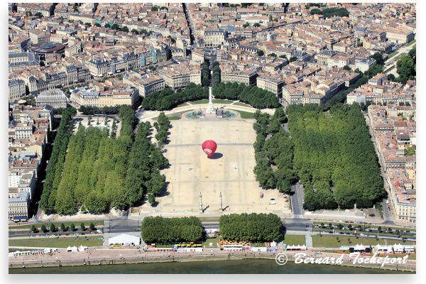 Bordeaux, Place des Quinconces .