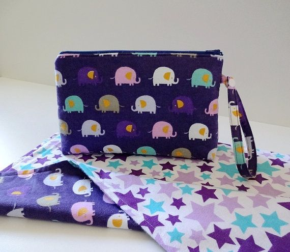 Zipper Wristlet & Changing Mat Set of 2 Baby by CollectionLand