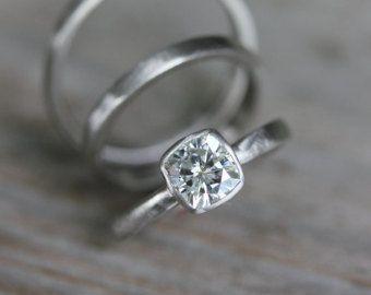 Cuscino Anello Morganite Morganite gemma anello di onegarnetgirl