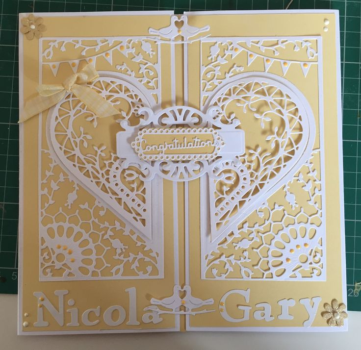 Adoring collection wedding card create and craft couture dies