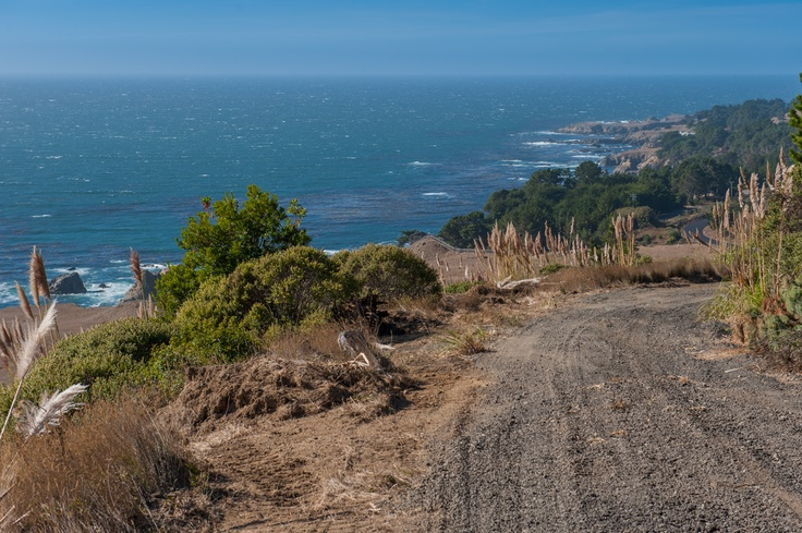 Country Road, take me home.  Stewarts Point, CA