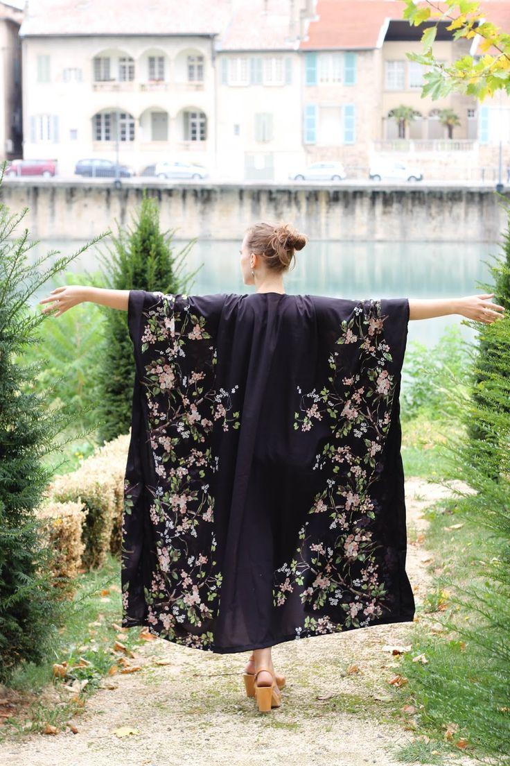 DIY : un kimono facile à coudre // Easy kimono tutorial