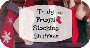 """I have run across a few lists of frugal stocking stuffers for kids. Well, over here we have a $5 maximum for each of the 5 kid stockings that we stuff, for a total of $25. Additionally, our goal is to reach the hearts of our children with the love of Jesus so random cheap stuff just won't do. So here is a list of some of the things we have used to stuff stockings to the """"ohhhs & ahhhs"""" of the children."""