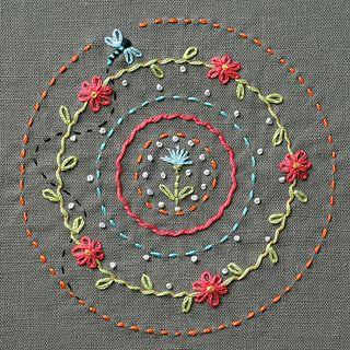 Simple stitch practice.