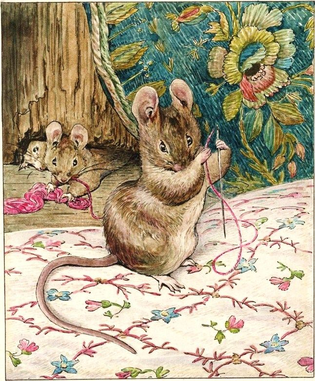 Beatrix Potter ~ The Tailor Of Gloucester ~(made a favorite of mine by watching it with my grandbabies)