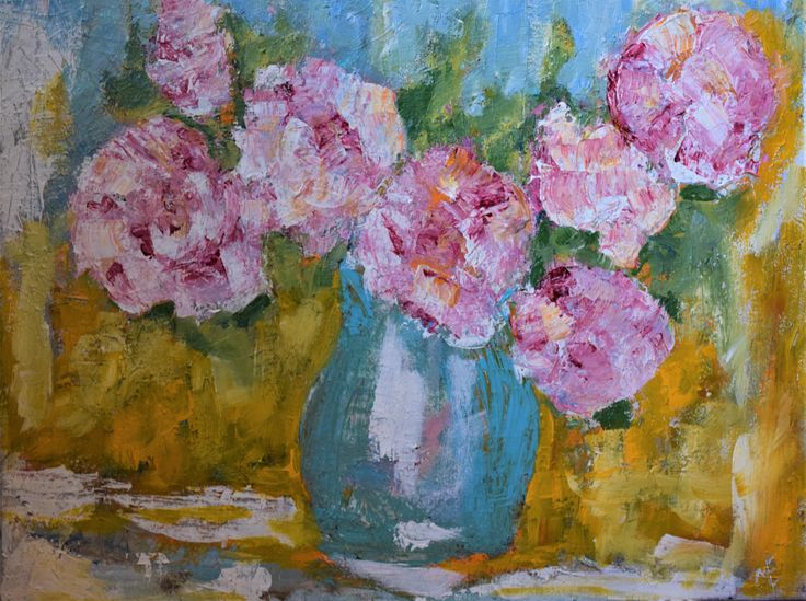 I love thick impasto painting where you can see the brushstrokes. acrylic on canvas