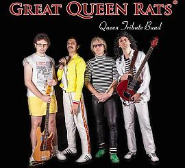 Questa sera musica con i Great Queen's Rats