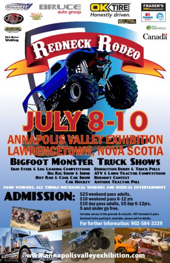 Too much fun @ Redneck Rodeo 2016 at Annapolis Valley Exhibition, Lawrencetown, NS