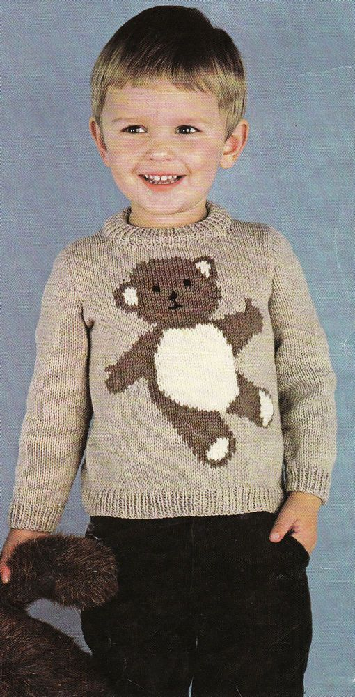 Knitting Pattern Box Jumper : 37 best Babies Knitting Patterns Vintage images on Pinterest