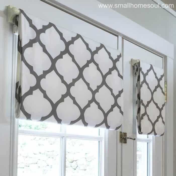 Simple French Door Curtains Easy Diy Tutorial French Door