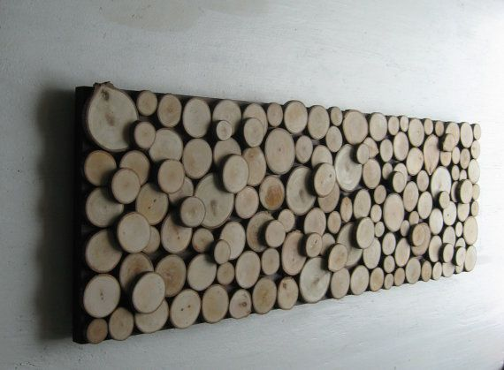 wood slice wall art sculpture abstract maple tree rings. Black Bedroom Furniture Sets. Home Design Ideas