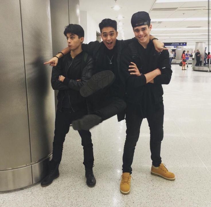 Erick, Joel, and Zabdiel