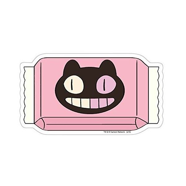 Steven Universe Cookie Cat Cookie Wrapper Sticker ($7.99) ❤ liked on Polyvore featuring home, home decor, office accessories, magnet stickers, cat stickers and cat magnets