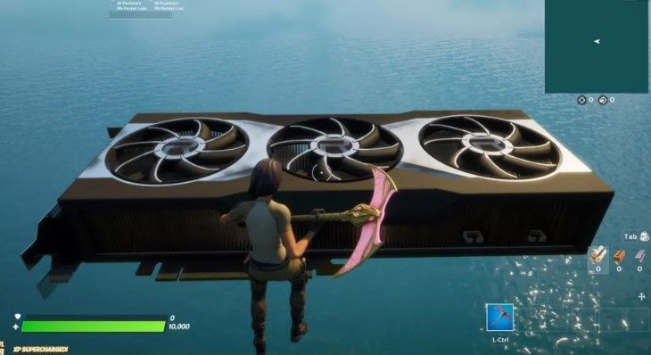 You Can Check Out Amd S New Graphics Card In Fortnite In 2020 Graphic Card Fortnite Canning