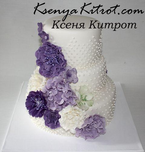 Свадебные торты в Санкт-Петербурге, Студия авторских тортов Ксении Китрот
