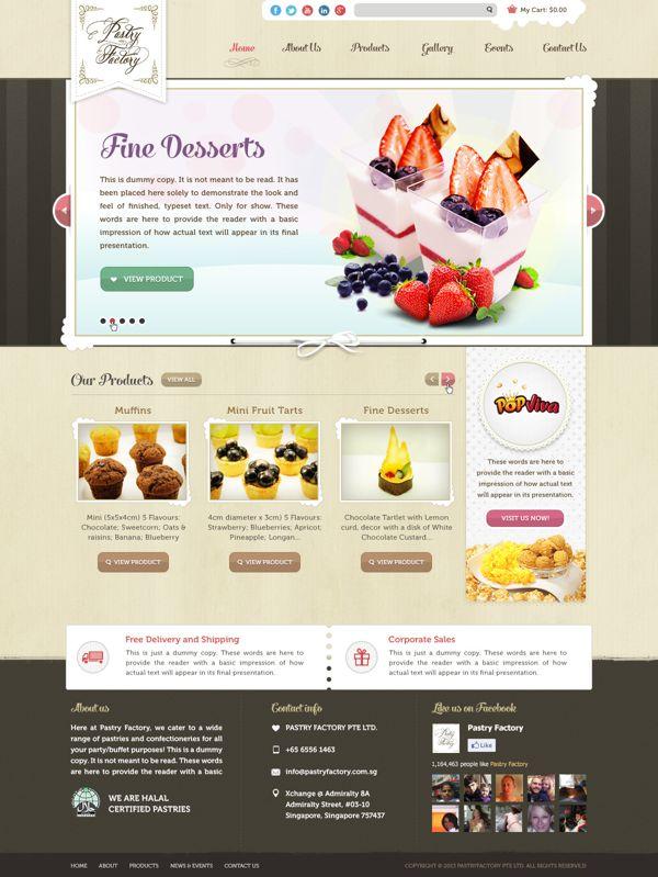 Web Design 2013_002 by RJ Briggz Dolorido, via Behance