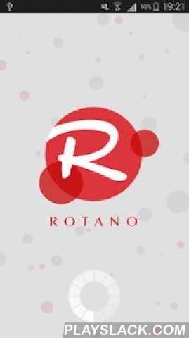 ROTANO  Android App - playslack.com , ROTANO is a Mobile VoIP dialer application that allows to make VoIP calls from any of the Android devices and it uses 3G/Edge/Wi-Fi Internet connectivity.It is developed based on the requirements of VoIP Providers business needsFeatures :-ROTANO uses SIP protocol based for signaling.Supports G729,PCMU, PCMA codecs.Runs Behind NAT or private IP.User Friendly Interface.Auto Sync of Balance.Real Time Sip status messages.Call History.Address book…