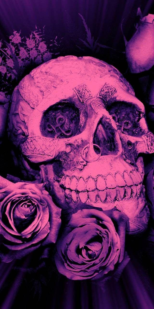 Idea By Darcey Stanley On Skulls Skull Wallpaper Skull Skull