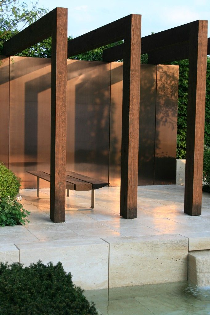 Wall cladding | Ulf Nordjfell, Chelsea Flower Show 2013