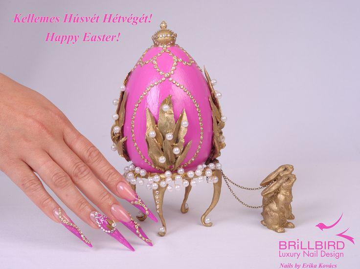 Kellemes Húsvéti Ünnepeket! nail, nails, nagel, unghie, divat, fashion, mode