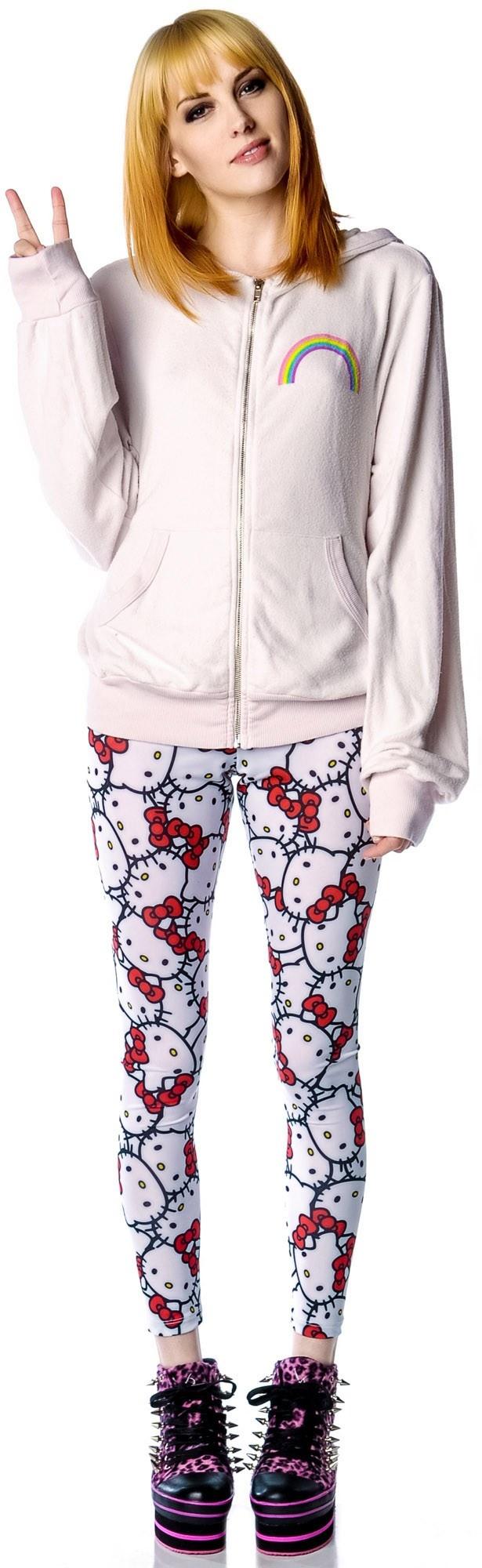 JapanLA x Hello Kitty Classic Leggings available at http://dollskill.com