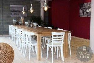 Cafe stoelen, kies een kleur en model voor uw interieur - Oud is Nieuw