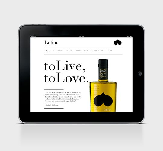 Packaging Olive Oil Online. www.ilovelolita.es