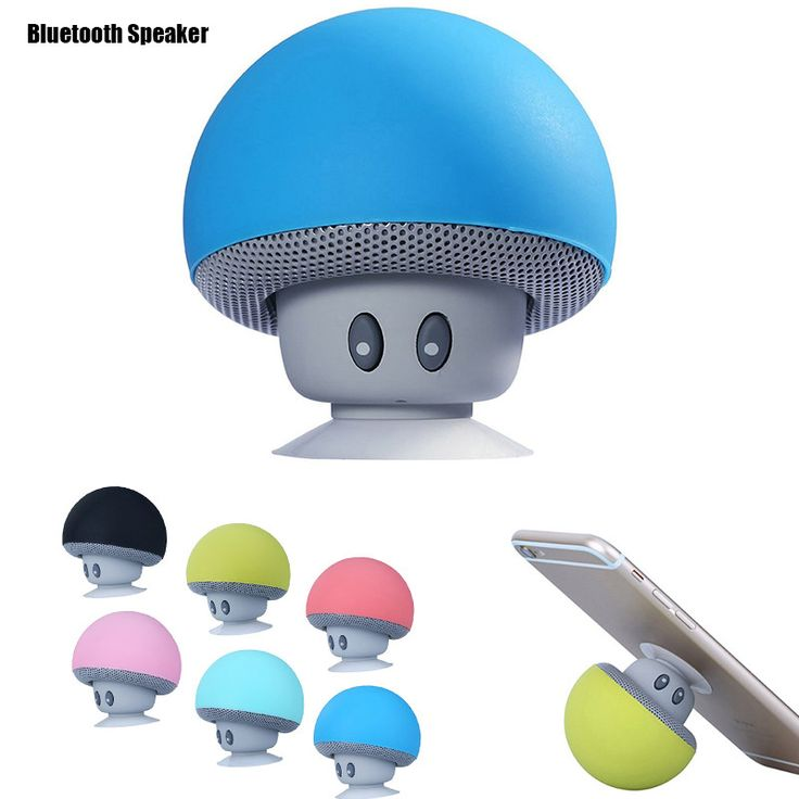Creative Bluetooth Speaker and phone stand holder