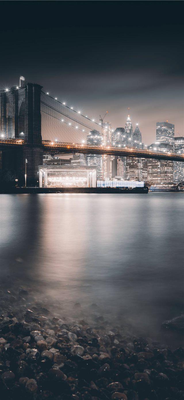 Sundown In Brooklyn Iphone X Wallpaper Cold Winter Fall