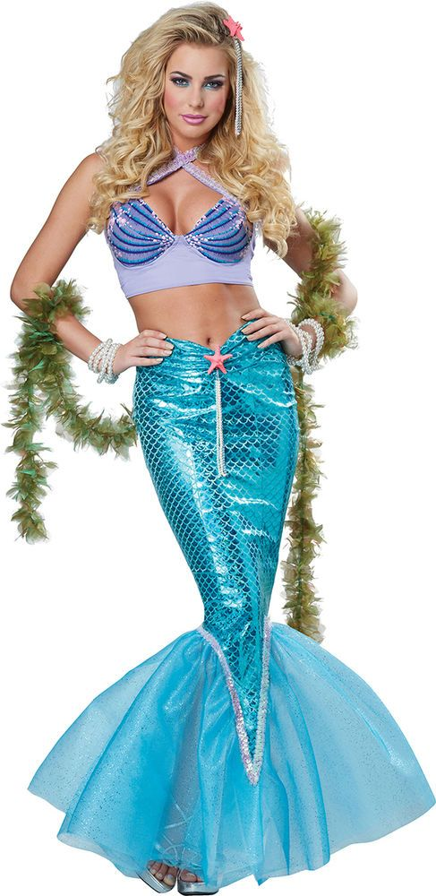 California Costumes Women's Deluxe Mermaid Costume. 01299 #CaliforniaCostumes #Costume