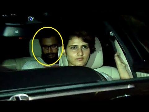 Aamir Khan spotted with his REEL daughter Fatima Sana Shaikh (Geeta).
