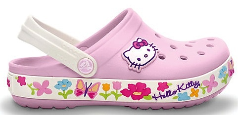 Crocs Hello Kitty Kids Clogs: 19.99 + FREE Shipping! #shoes