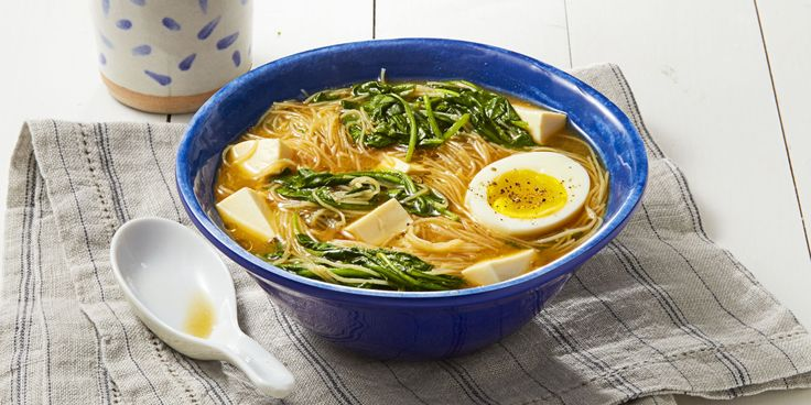 Miso paste gives this simple ramen recipe a serious umami boost.
