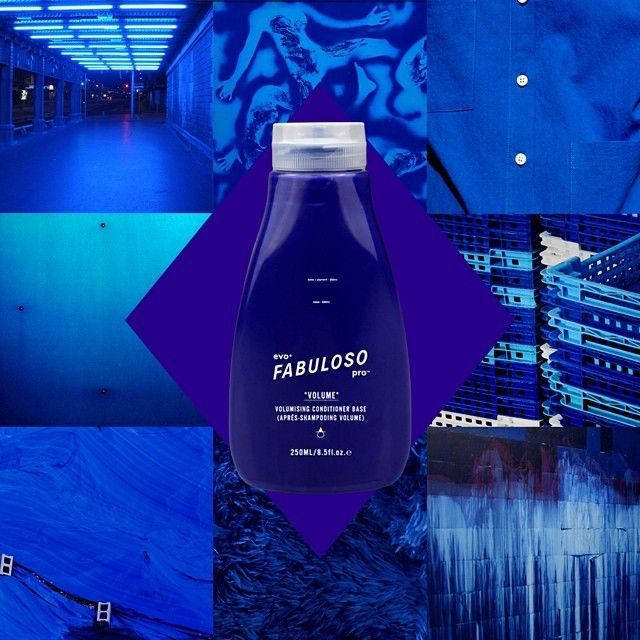 230g conditioner base + 20g blue = evo® fabuloso pro™ 'in the navy'. enjoy with a salty sailor.