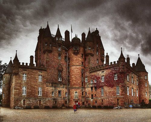 Medieval, Glamis, Scotland. King Malcom ll was killed here in 1034. It is said that it is the most haunted castle in Scotland!