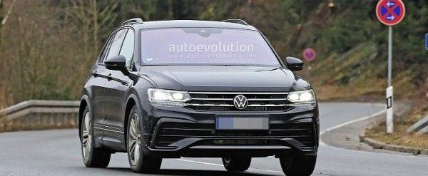 Volkswagen Tiguan Facelift In 2020 Volkswagen Daihatsu Facelift