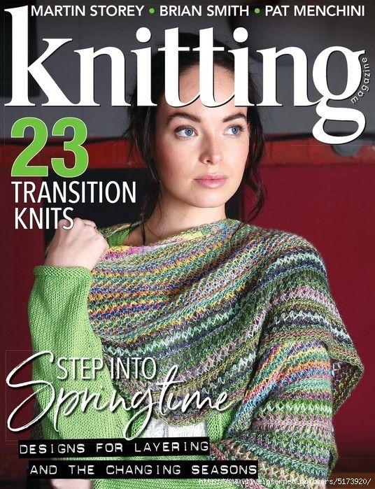Knitting 193 2019 язык English журнал по вязанию спицами и