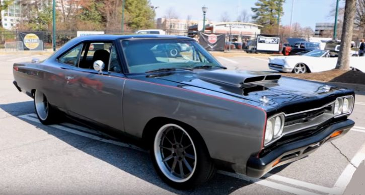 high end custom 1969 plymouth road runner