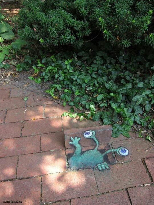 Best David Zinn Images On Pinterest David Zinn Sidewalk Art - David zinns 3d chalk art adorably creative