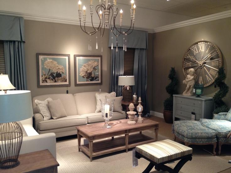 Ethan Allen living room