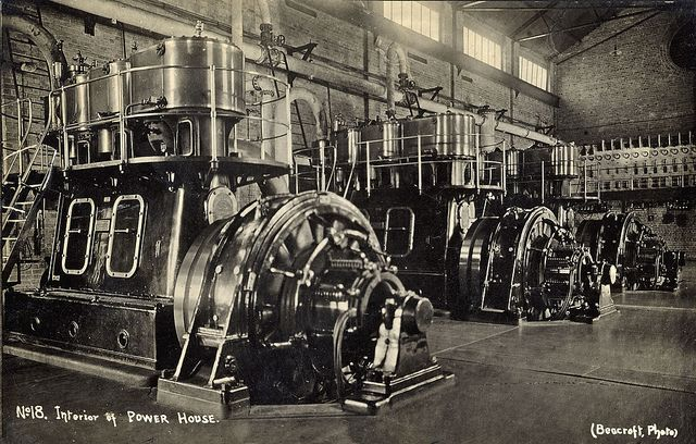 BHP Interior of Power House, Newcastle, NSW, Australia
