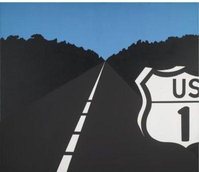 """Allan d'Arcangelo, """"US Highway I, No. 4"""""""