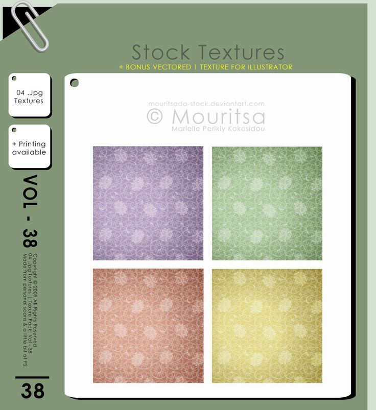Texture Pack - Vol 38 by MouritsaDA-Stock