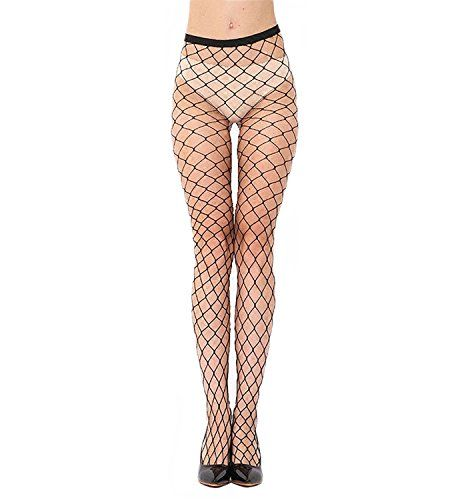 <p>Women's Sexy High Waist Fishnet Tights Fishnet Hollow Out Hight Tights Stockings Pantyhose </p> <ul> <li>Color:black</li> </ul> <ul> <li>Size:one size, fit for height 150cm-175cm/60-68 inch, waist circumference 75cm-105cm/29-41inch, Weight:under 170 lbs,with high heels, legs look sexy, good choice</li> </ul> <p>Tips: </p> <ul> <li>Wash it at first before you wear